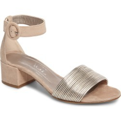 Women's Agl Ankle Strap Sandal, Size 6.5US - Metallic found on MODAPINS from Nordstrom for USD $365.00