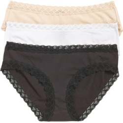 Women's Natori Bliss 3-Pack Cotton Blend Briefs found on MODAPINS from LinkShare USA for USD $48.00