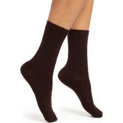 Women's Nordstrom Ribbed Cashmere Blend Socks found on MODAPINS from Nordstrom for USD $18.00