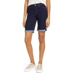Women's Jen7 By 7 For All Mankind High Waist Denim Bermuda Shorts, Size 0 - Blue found on MODAPINS from Nordstrom for USD $31.53