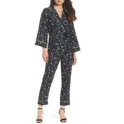 Women's Adelyn Rae Addison Pajama Jumpsuit