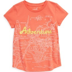 Toddler Girl's Peek Aren'T You Curious Kids' Adventure Map Print Tunic, Size 3T - Red found on Bargain Bro from Nordstrom for USD $25.84