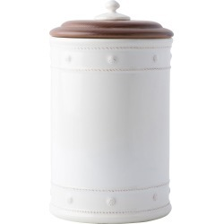 Juliska Berry & Thread Whitewash Ceramic Canister, Size Medium - White found on Bargain Bro India from LinkShare USA for $125.00