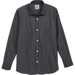 Boy's Jb Jr Dot Dress Shirt, Size 8 - Black found on Bargain Bro India from Nordstrom for $29.70
