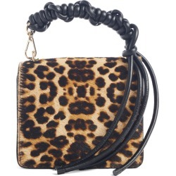 Dries Van Noten Small Knot Leopard Genuine Calf Hair Crossbody Bag - Brown found on Bargain Bro India from LinkShare USA for $567.50