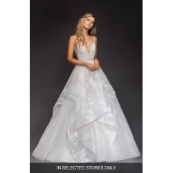 Women's Hayley Paige Kellan Lace & Tulle Ballgown, Size - Ivory found on Bargain Bro Philippines from Nordstrom for $3850.00