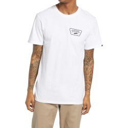 Men's Vans Slim Fit Full Patch Back Men's Graphic Tee, Size Small - White found on Bargain Bro from Nordstrom for USD $18.62