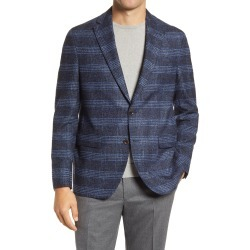 Men's Jack Victor Midlance Wool Blend Boucle Sport Coat, Size 40 Short - Blue found on MODAPINS from Nordstrom for USD $349.00