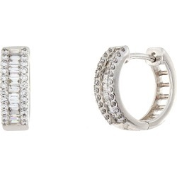 Women's Bony Levy Mix Diamond Huggie Hoop Earrings (Nordstrom Exclusive) found on Bargain Bro Philippines from Nordstrom for $1995.00