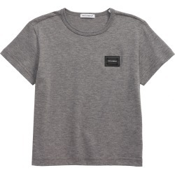Toddler Boy's Dolce & gabbana Logo Patch T-Shirt, Size 2T - Grey found on Bargain Bro India from Nordstrom for $115.00