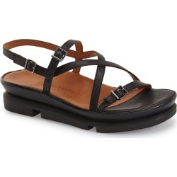 Women's L'Amour Des Pieds 'Verdun' Crisscross Sandal, Size 10 M - Black found on MODAPINS from Nordstrom for USD $204.95