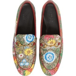 Women's Gucci New Jordaan Floral Gg Supreme Loafer found on Bargain Bro Philippines from Nordstrom for $790.00