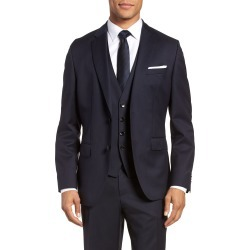 Men's Boss Johnstons Cyl Classic Fit Solid Wool Sport Coat, Size 46 R - Blue found on MODAPINS from Nordstrom for USD $290.25