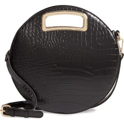 Mali + Lili Danni Vegan Leather Round Top Handle Bag - Black found on Bargain Bro India from Nordstrom for $74.00