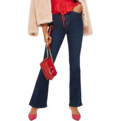 Petite Women's Topshop Jamie Petite Flared Jeans, Size 32W x 28L (fits like 30-31W) - Blue found on MODAPINS from Nordstrom for USD $44.99