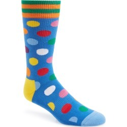 Men's Happy Socks Athletic Big Dot Socks found on MODAPINS from Nordstrom for USD $5.60