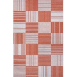 Couristan Patchwork Indoor/outdoor Rug, Size 2ft 2in x 11ft 9in - Orange found on Bargain Bro India from LinkShare USA for $99.00