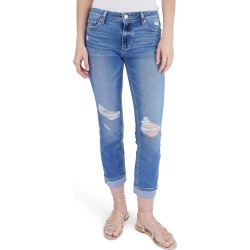 Women's Paige Brigitte Ripped Slim Jeans found on MODAPINS from Nordstrom for USD $219.00