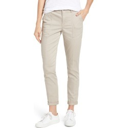 Women's Wit & Wisdom Flex-Ellent High Waist Cargo Pants, Size 6 - Beige (Nordstrom Exclusive) found on Bargain Bro from Nordstrom for USD $51.68