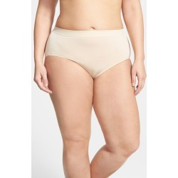 Plus Size Women's Wacoal B-Smooth Briefs, Size 2X - Beige found on MODAPINS from Nordstrom for USD $15.00