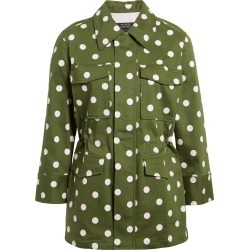 Women's Halogen X Atlantic-Pacific Polka Dot Utility Jacket found on Bargain Bro India from LinkShare USA for $129.00