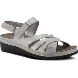 Women's Flexus By Spring Step Guanare Slingback Sandal, Size 5.5-6US - Metallic found on Bargain Bro India from Nordstrom for $60.00