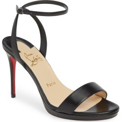 Women's Christian Louboutin Loubi Queen Ankle Strap Sandal found on Bargain Bro India from LinkShare USA for $845.00