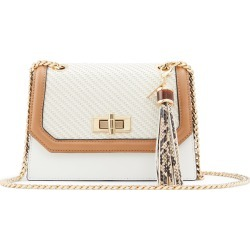 Aldo Umialith Faux Leather Crossbody Bag - White found on MODAPINS from Nordstrom for USD $60.00