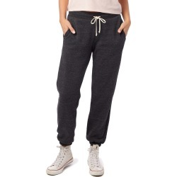 Women's Alternative Classic Eco-Fleece Sweatpants, Size Large - Black found on MODAPINS from Nordstrom for USD $49.00