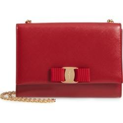 Salvatore Ferragamo Mini Vara Leather Crossbody Bag - Red found on Bargain Bro India from Nordstrom for $875.00