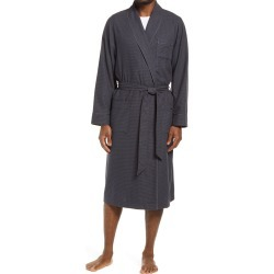 Men's Nordstrom Men's Shop Flannel Robe, Size Medium/Large - Grey found on Bargain Bro India from Nordstrom for $49.50
