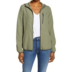 Women's L.L.Bean No Fly Zone Full Zip Hoodie, Size Medium - Green found on Bargain Bro from Nordstrom for USD $67.64