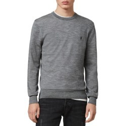 Men's Allsaints Mode Slim Fit Merino Wool Sweater, Size XX-Large - Grey found on Bargain Bro India from LinkShare USA for $120.00