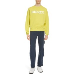 Men's Kenzo Logo Classic Crewneck Sweatshirt, Size XX-Large - Green found on MODAPINS from Nordstrom for USD $255.00