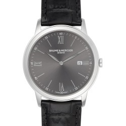 Men's Baume & Mercier Classima Leather Strap Watch, 42Mm found on Bargain Bro India from Nordstrom for $990.00