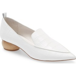 Women's Jeffrey Campbell Viona Pointed Toe Loafer, Size 10 M - White found on MODAPINS from Nordstrom for USD $99.90
