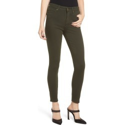 Women's Leith High Waist Ankle Skinny Jeans, Size 26 - Green found on Bargain Bro India from Nordstrom for $41.40