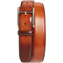 Men's Magnanni Catalux Leather Belt, Size 36 - Cognac found on Bargain Bro from Nordstrom for USD $114.00