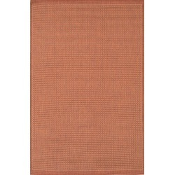 Couristan Saddlestitch Indoor/outdoor Rug, Size 5ft 10in x 9ft 2in - Orange found on Bargain Bro from Nordstrom for USD $136.04