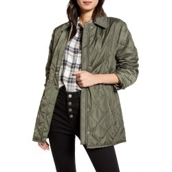 Women's Treasure & Bond Quilted Barn Jacket, Size Small - Green found on Bargain Bro India from Nordstrom for $129.00