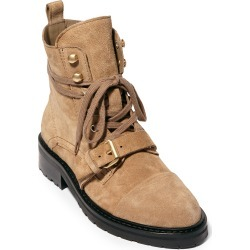 Women's Allsaints Donita Combat Boot, Size 6US - Brown found on MODAPINS from Nordstrom for USD $347.95