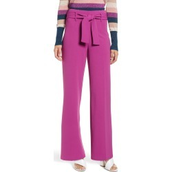 Women's Leith High Waist Belted Pants, Size XX-Small - Purple found on Bargain Bro India from Nordstrom for $59.00