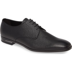 Men's Prada Plain Toe Derby, Size 12US - Black found on MODAPINS from Nordstrom for USD $695.00