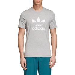 Men's Adidas Originals Trefoil T-Shirt, Size Small - Grey found on Bargain Bro India from LinkShare USA for $30.00
