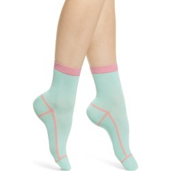Women's Hysteria By Happy Socks Lily Rib Ankle Socks found on MODAPINS from Nordstrom for USD $18.00
