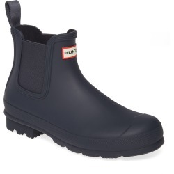 Men's Hunter 'Original' Waterproof Chelsea Rain Boot, Size 13 M - Blue found on MODAPINS from Nordstrom for USD $94.50