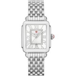 Women's Michele Deco Madison Diamond Dial Watch Head & Bracelet, 29mm X 31mm found on Bargain Bro India from LinkShare USA for $1095.00