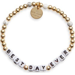 Men's Little Words Project Best Day Ever Beaded Stretch Bracelet found on Bargain Bro India from Nordstrom for $30.00
