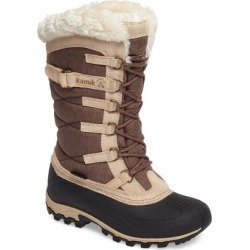 Women's Kamik Snowvalley Waterproof Boot With Faux Fur Cuff, Size 8 M - Brown found on MODAPINS from Nordstrom for USD $119.95