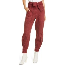 Women's Ulla Johnson Wade Tie Waist Tapered Jeans found on MODAPINS from Nordstrom for USD $158.00